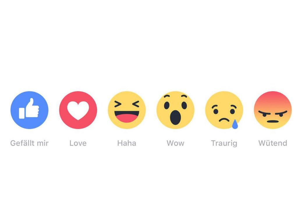 Haha Wow Heart Co Facebook Reactions Now Available Mytectech