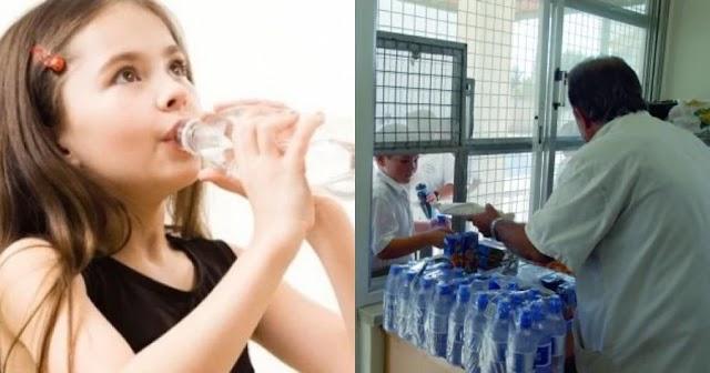 Το κυλικείο του σχολείου δεν δίνει νερό στη διψασμένη κόρη μου για να μη χρωστάμε 0,20€ στο τέλος της χρονιάς