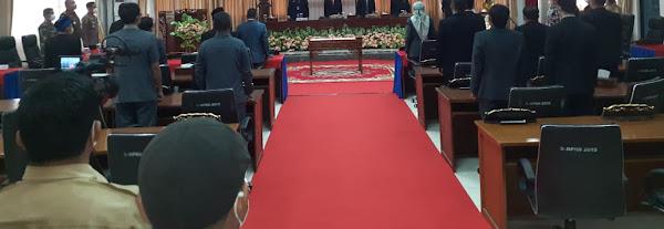 DPRD Sekadau Gelar Paripurna Istimewa Penetapan Bupati dan Wakil Bupati Terpilih
