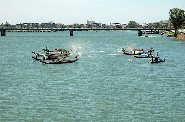 And quiet flows the Huong River 11