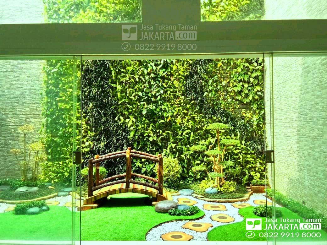 konsep taman indoor - tukang taman rumah