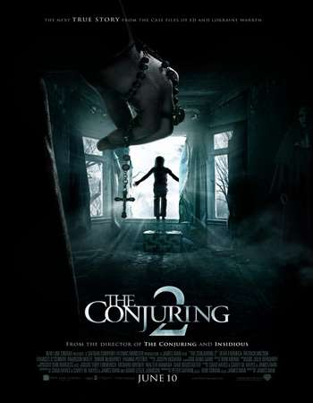 Poster Of The Conjuring 2 2016 English 350MB HDTS 480p Free Download Watch Online Worldfree4u
