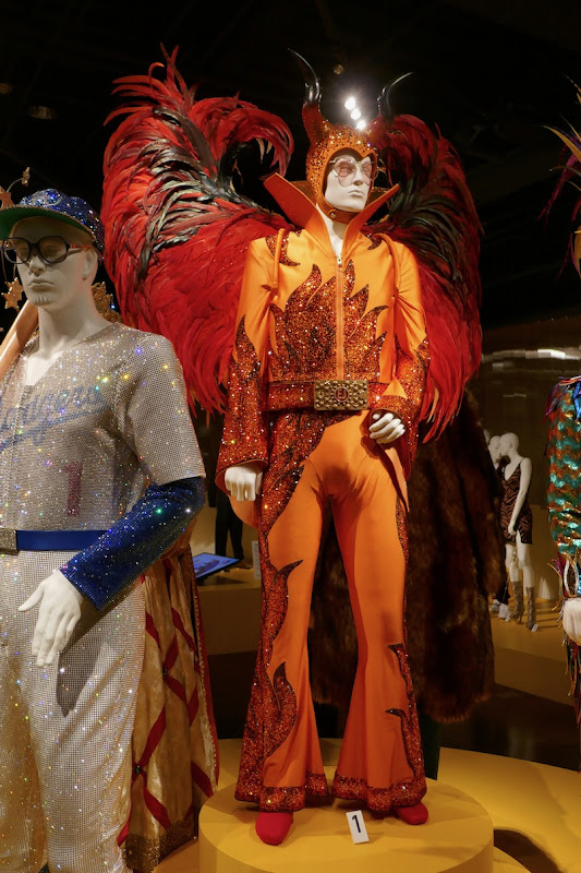 Elton John Rocketman Winged Devil costume