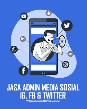jasa admin media sosial