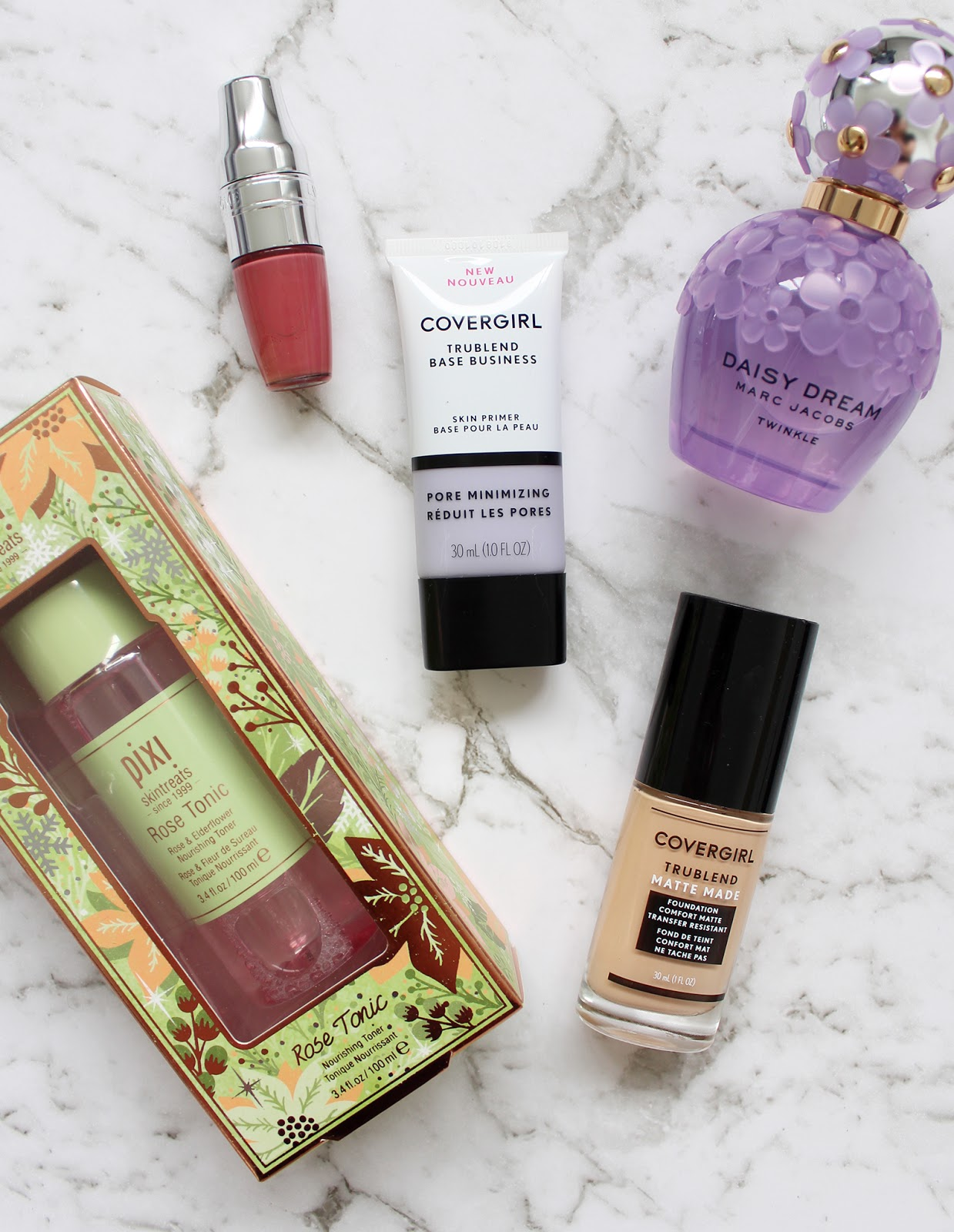 NEW IN BEAUTY HAUL | Covergirl, Marc Jacobs, Pixi + Lancome - Cassandra Myee