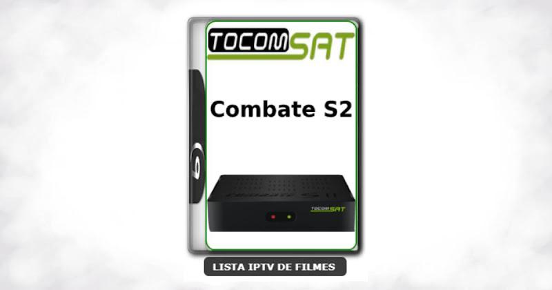 Tocomsat Combate S2 Nova Atualização Satélite SKS keys 61w ON V1.37