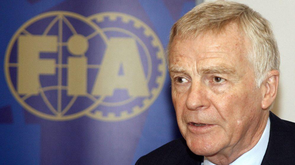 Max Mosley aposentou-se da FIA em 2009