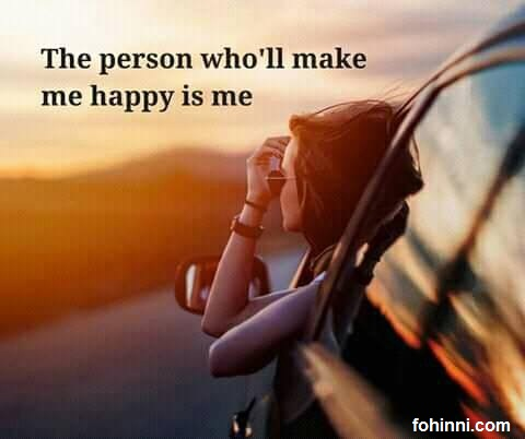 The person who will make me happy