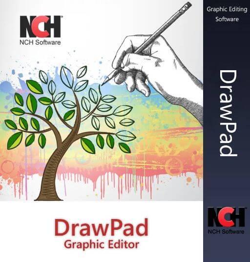أفضل, برنامج, لإنشاء, وتصميم, الرسومات, والجرافيك, DrawPad ,Graphics ,Editor
