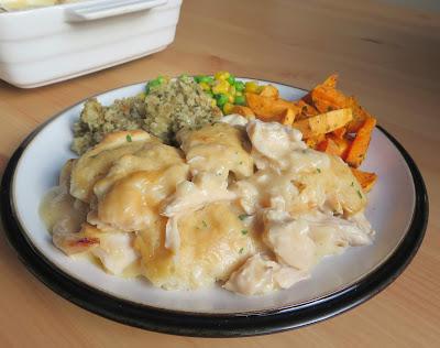 Chicken & Dumpling Casserole for Two