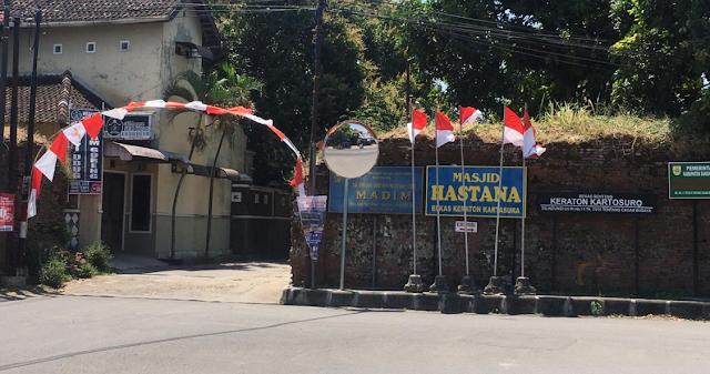 Sejarah Keraton Kartosuro Kabupaten Sukoharjo Jawa Tengah Tempoe Doeloe