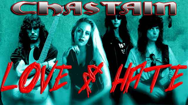 """Chastain - """"Love and Hate"""" (live video)"""