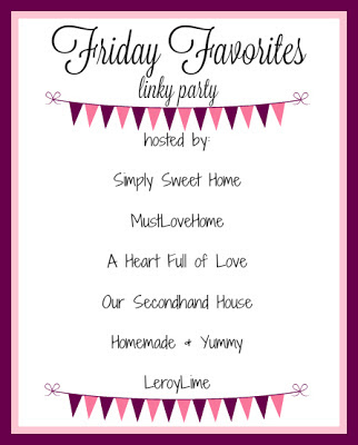 Friday Favorites Linky Party - Link up EVERY FRIDAY!! www.leroylime.com