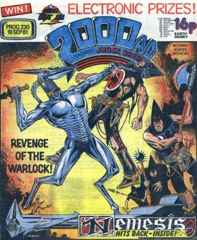 2000 AD Prog 230, Nemesis the Warlock