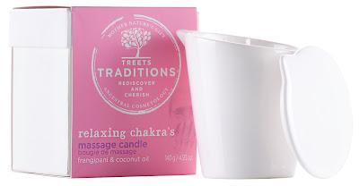 vela de masaje de Treets Traditions