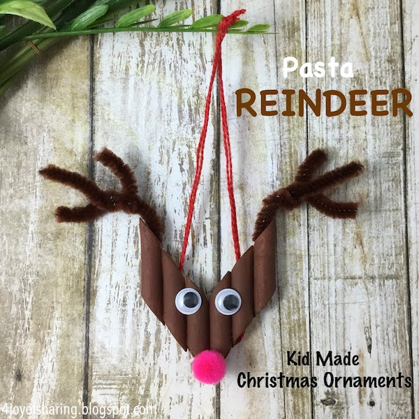 Christmas crafts, christmas decoration, christmas ornaments, pasta craft, reindeer craft, animal craft, kid-made decoration, kid-made, handmade, crafts, Kids craft, crafts for kids, craft ideas, kids crafts, craft ideas for kids, paper craft, art projects for kids, easy crafts for kids, fun craft for kids, kids arts and crafts, art activities for kids, kids projects, art and crafts ideas. toddler crafts, toddler fun, preschool craft ideas, kindergarten crafts, crafts for young kids