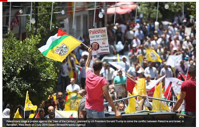 Amerika akan Relokasi Warga Palestina dan Al-Aqsa akan Hilang dari Sejarah