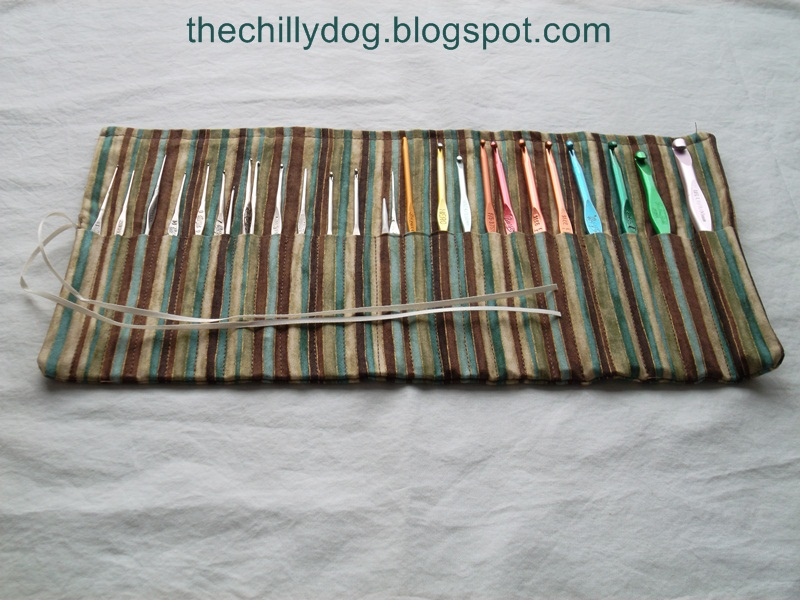 Roll Up Pencil Case The Chilly Dog