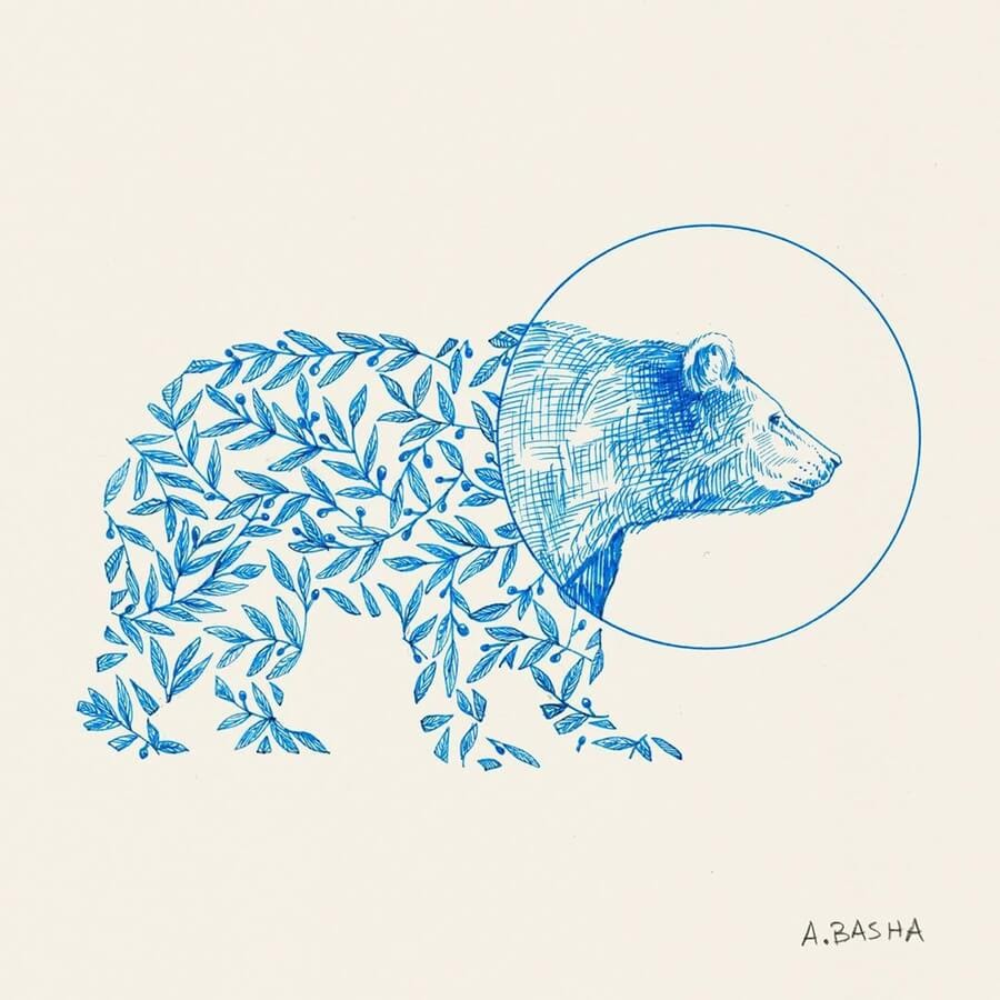 01-Flower-Bear-Alfred-Basha-www-designstack-co