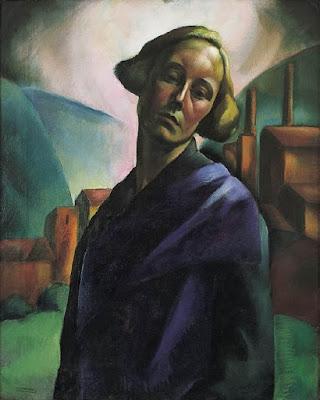 Autoportrait (1921), Erzsébet Korb