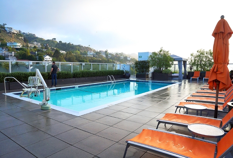 Euriental || fashion & luxury travel || Andaz, West Hollywood, L,A, rooftop pool