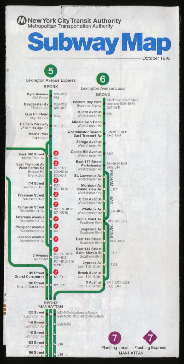 1992 Nyc Subway Map.Tenth Letter Of The Alphabet Typography New York City Subway Maps