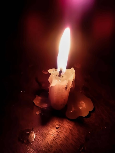 Burning Candle Full HD wallpaper Free Stock [ Download ]