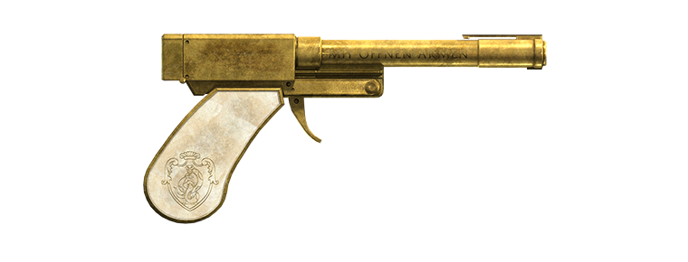 The new Perico pistol from the Heist