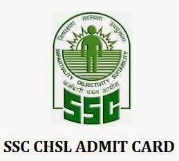 SSC CHSL Exam Admit Card 2015 for LDC DEO written test
