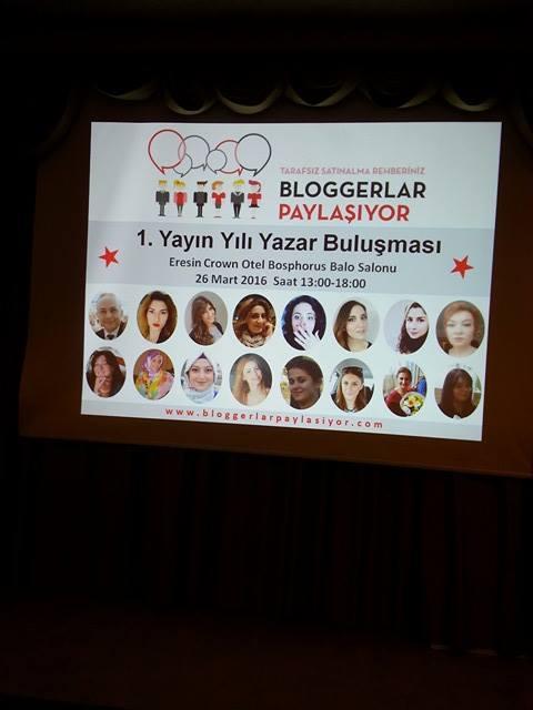 Bloggerlar Paylasiyor 1 Yasinda