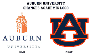 Auburn University changes logo academics