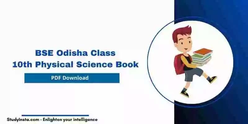 BSE Odisha Class 10th Physical Science Book 2021 PDF Download