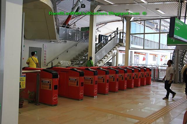AirAsia - Bukit Bintang monorail station, Bukit Bintang, KL, Malaysia
