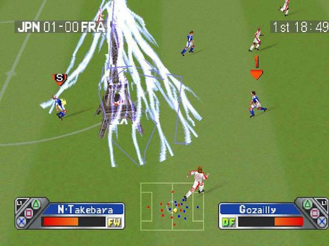Super Shoot Soccer PS 1