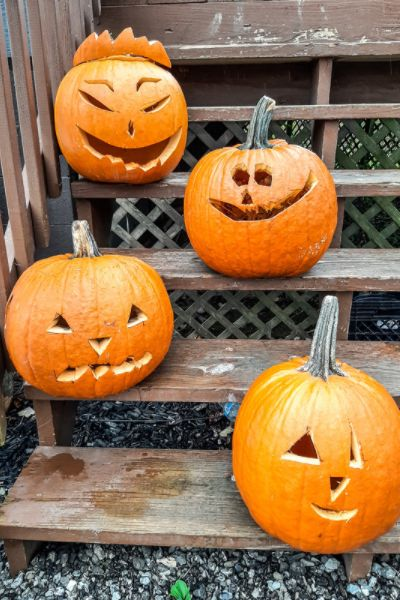 pumpkin carving kits you can buy on Amazon | On The Creek Blog // www.onthecreekblog.com
