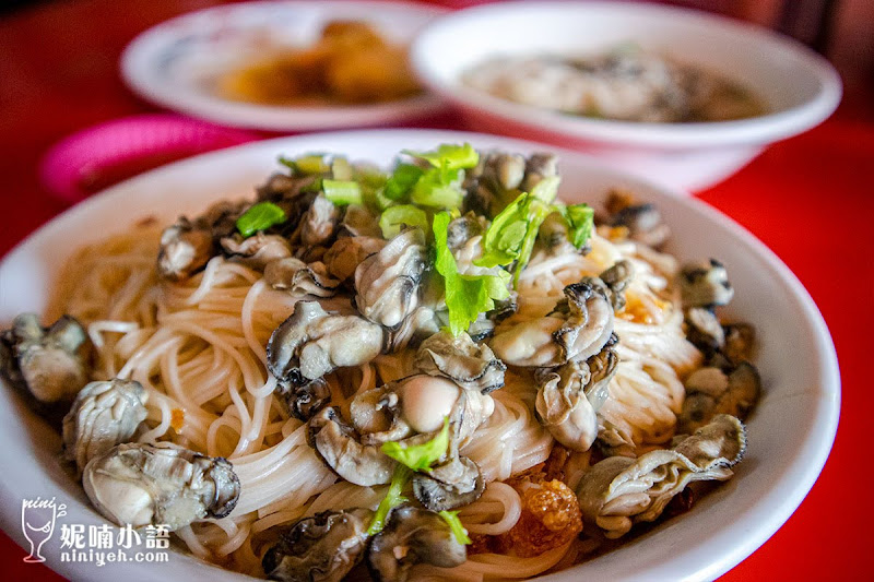 【金門美食】金道地小吃。超豪氣鮮蚵蓋麵線