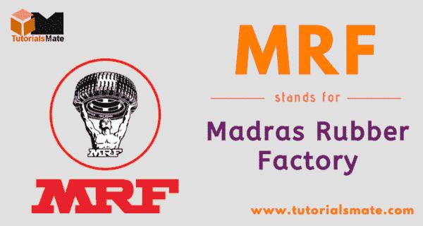 MRF Full Form