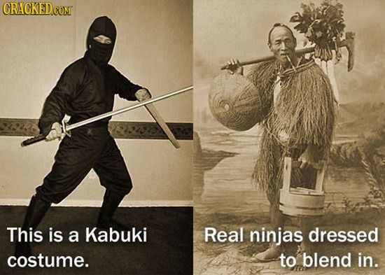 real ninja undercover as farmer
