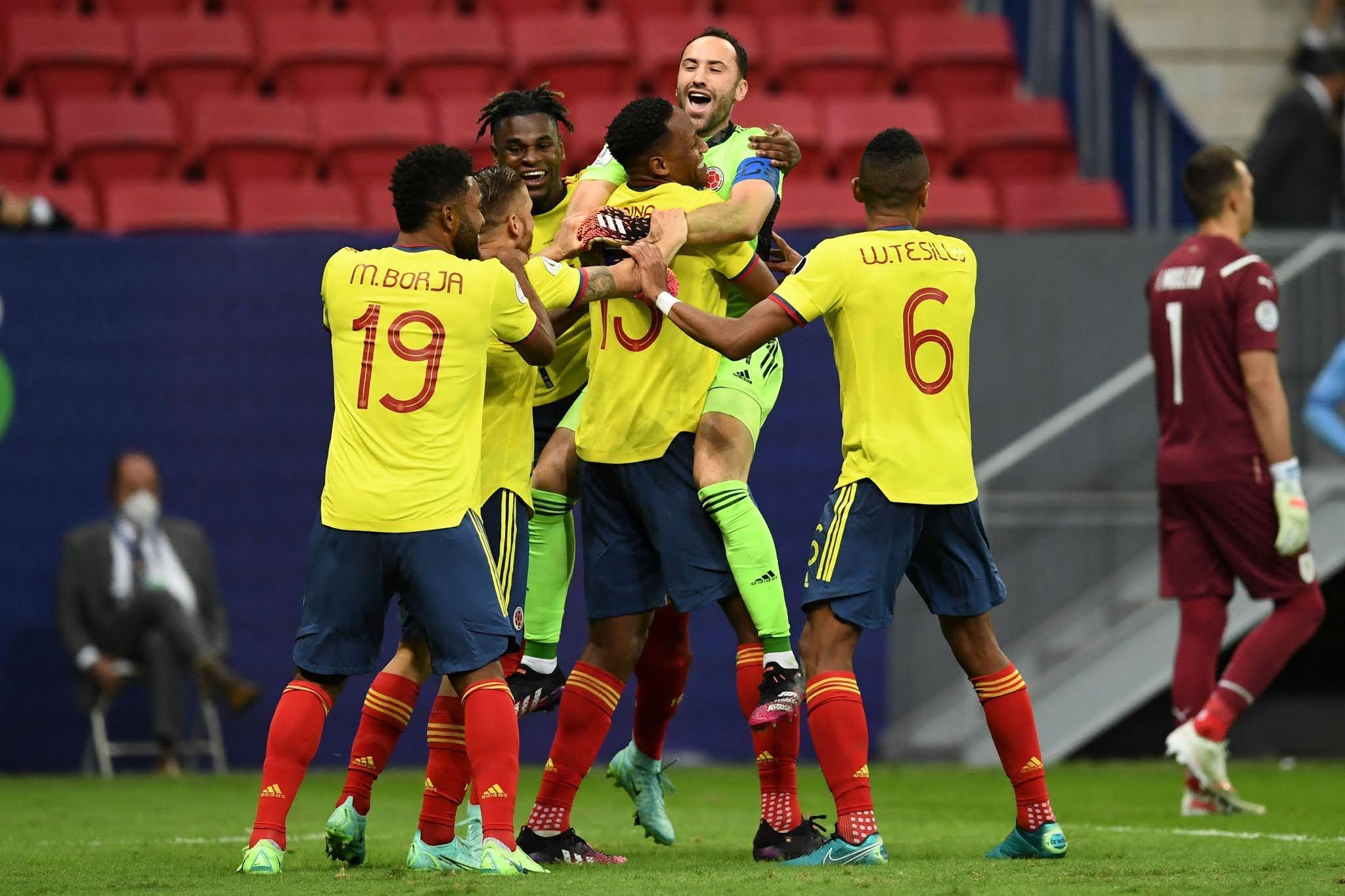 Colombia avanzó a semifinales de la Copa América al vencer a Uruguay por penales