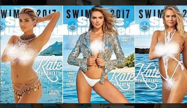 Kate Upton Sports Illustrated Swimsuit Issue 2017