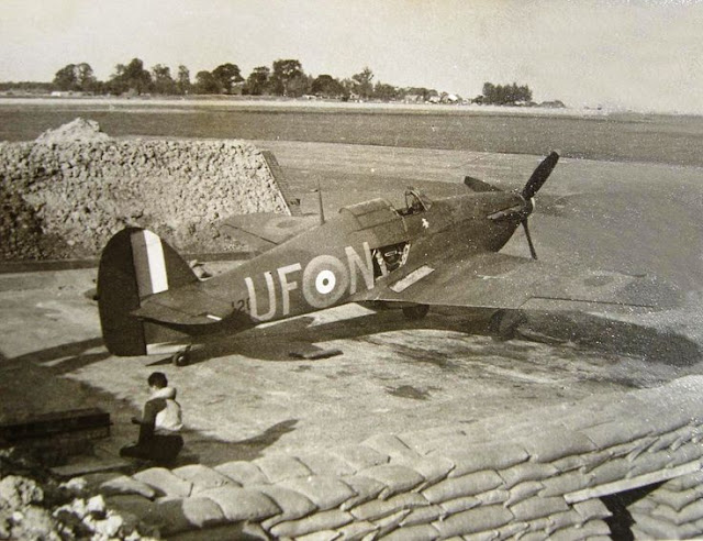 6 August 1940 worldwartwo.filminspector.com Hurricane RAF No. 601 Squadron