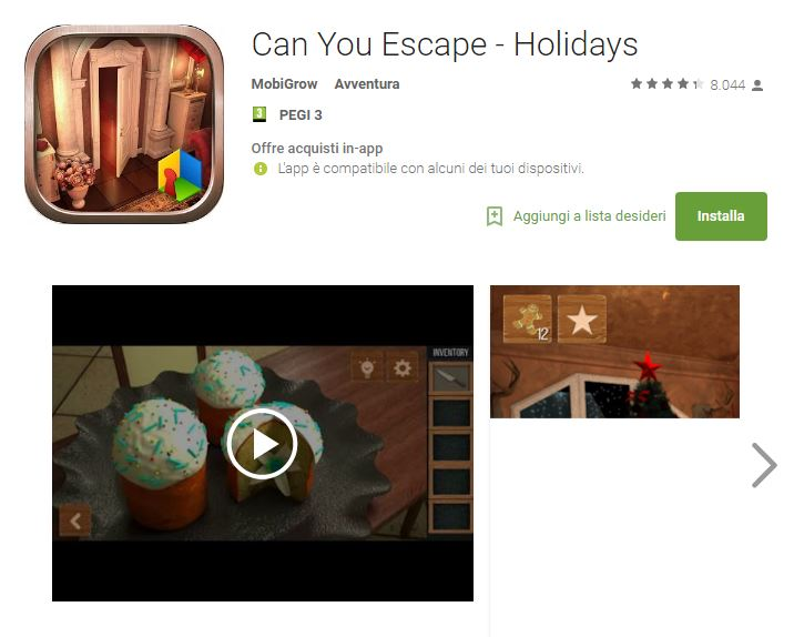 Soluzioni Can You Escape - Holidays di tutti i livelli | Video YouTube