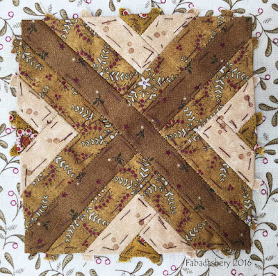 Dear Jane Quilt - Block K8 Springbrook Park