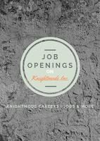 Job Openings on Knightmode Inc