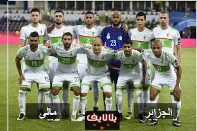 مشاهدة مباراة الجزائر ومالي بث مباشر اليوم