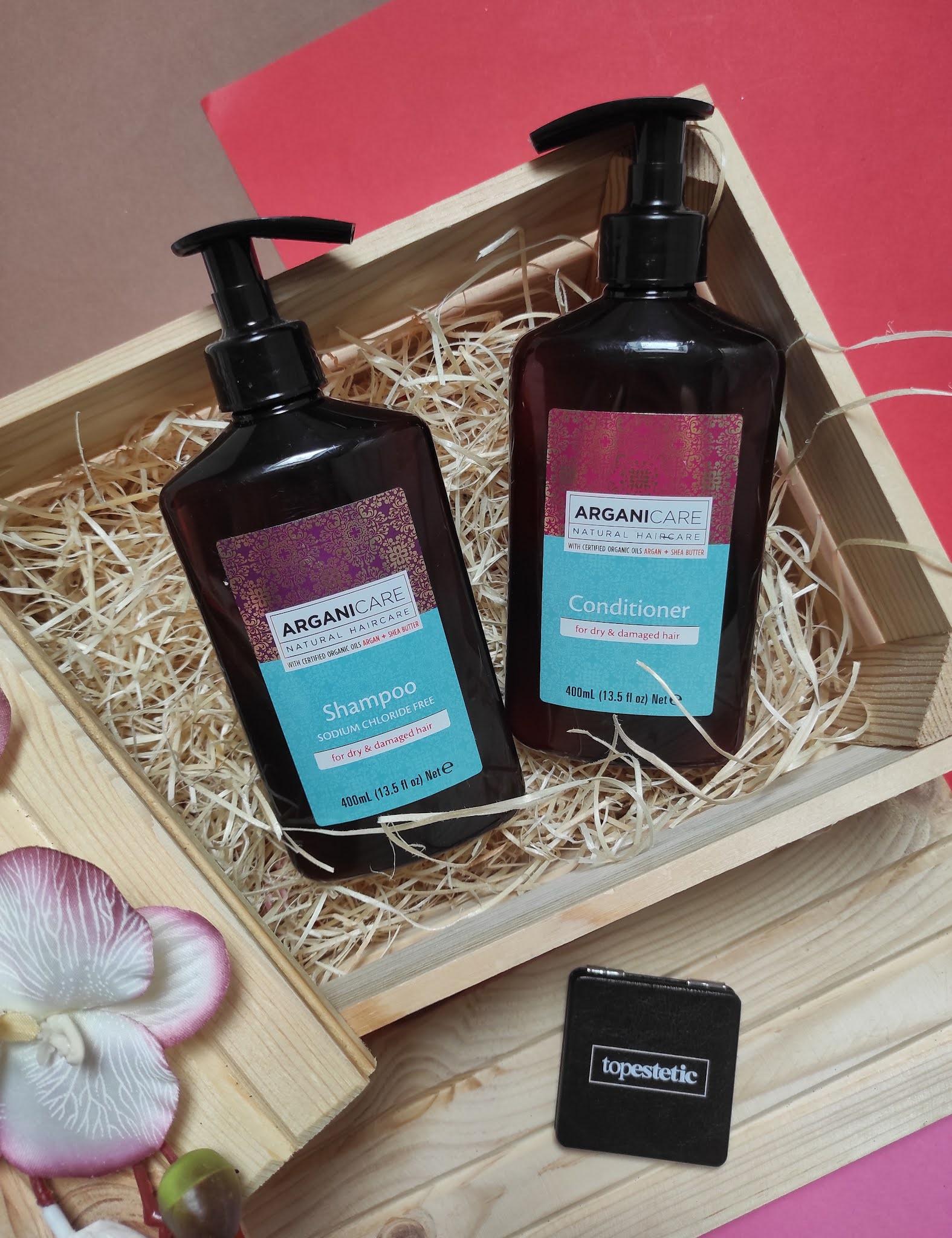 Kosmetyki Arganicare Shea Butter  - idealne do pielęgnacji suchych włosów - Topestetic