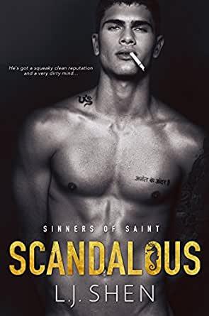 Scandalous by L.J. Shen Book Cover