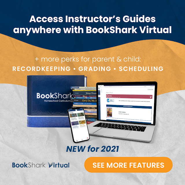 BookShark Virtual to help with records and accountability!
