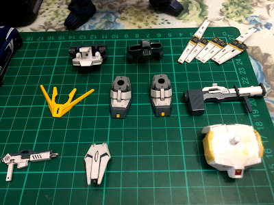G Generation-F SD BB Senshi RX-93 Nu Gundam G Generation-F SD BB Senshi RX-93 Nu Gundam Painted Parts