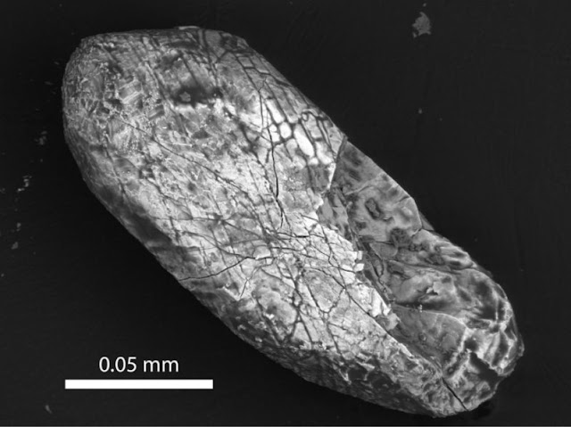 Origin of Earth's oldest crystals